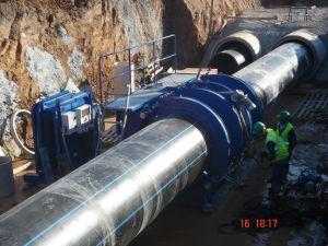 HDPE tubería y accesorios para el suministro de agua Dn20-1600mm