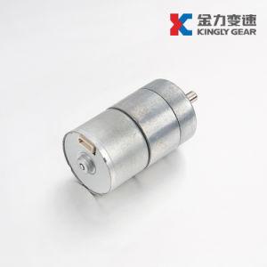 세륨 RoHS 25mm 12V 금속 기어 박스를 가진 낮은 Rpm DC 기어 모터