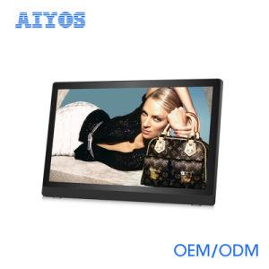 Изображение с тонкой рамкой и музыки в формате MP3 и MP4 цифровой фоторамки