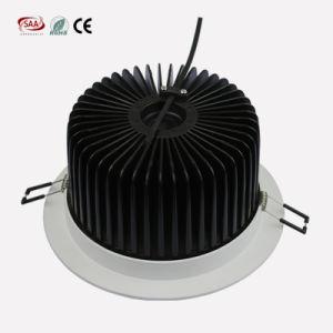 Cortar o teto Recessed 11W Downlight de Dimmable do dispositivo elétrico do diodo emissor de luz da ESPIGA de 105mm