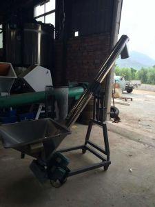 スクリュー給炭機3mの直径220mm