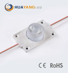 3W Módulo LED de alta potência com 3535 Chip SMD Diodo com 45D objectiva de ângulo do feixe para sinais de publicidade exterior