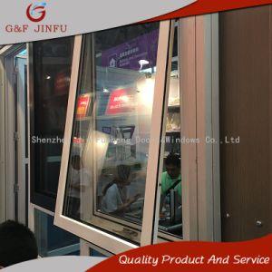Металлический профиль дверная рама перемещена из алюминия и Tilt-Turn Windows с двойным стеклом