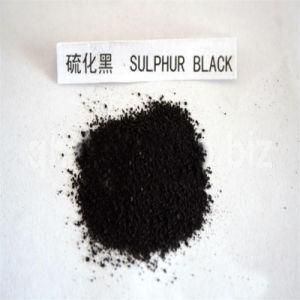 Zwarte 1 van de zwavel (C.I.: 53185), de Zwarte Kleurstoffen van de Zwavel
