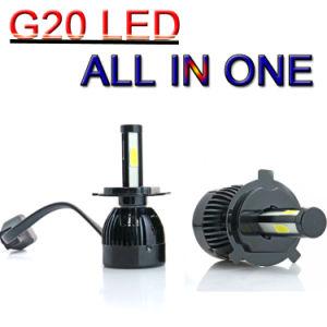 Los nuevos chips de mazorca G20 Coche Faro Faro LED Bombillas H4 80W 8000LM