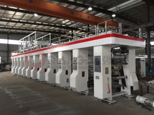 2018高い促進BOPP PVCフィルムのグラビア印刷の印字機