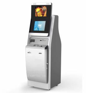 각자 서비스 이중 스크린 검사 여권 접촉 스크린 간이 건축물은 를 위한 SIM 카드를 분배한다