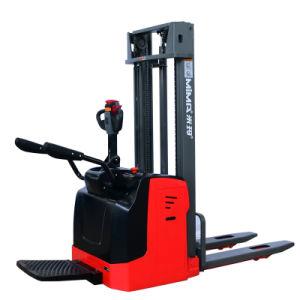 공장 직접 Mima 상표 2 톤 가득 차있는 전기 깔판 잭 쌓아올리는 기계
