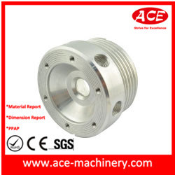 Aço Stainess Usinagem CNC parte do eixo da roda de 25 mm