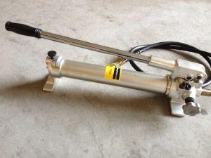 圧力計(CP-700AG)が付いているアルミ合金の油圧手動ポンプ