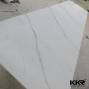 Superficie solida acrilica della grande lastra di pietra di marmo artificiale