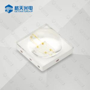 Crece la planta utiliza la luz de 460nm 470nm de 1W 3.4V SMD LED de color azul con lente
