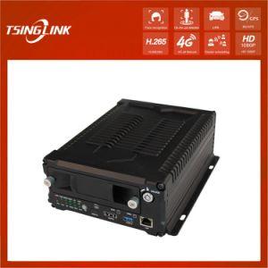 HDD 4G Móvil Autobús 8CH GPS DVR con disco duro