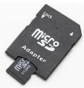 Voller Kapazität 128GB 256GB Mikro-Ableiter-Karten-Großhandelsadapter
