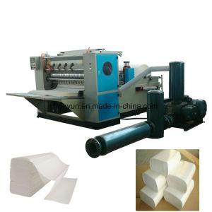 Completamente automática de Three-Folded N/Z plegado de papel toalla de mano que hace la máquina