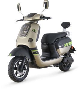 USBの電話料金および放射状タイヤ(MG5)が付いている強力な72V電池の電気スクーター