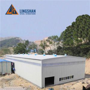 Q345bのSGSの証明の鋼鉄金属の屋根ふきの倉庫