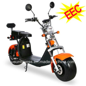 Cee/CDC Electric Scooter Harley Fat con ruedas para adultos de los asientos dobles