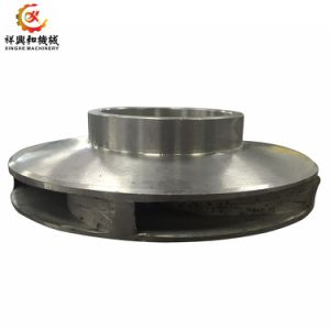 Personnalisés et de fer en aluminium/cuivre/zinc/Moulage d'investissement en acier inoxydable de rotor de pompe