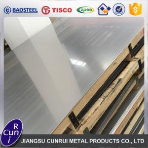 ASTM SUS chapas laminadas a frio 201 304/L 316/L 310S 430 2b Ba Espelho polido chapa de aço inoxidável da superfície do Traço Fino