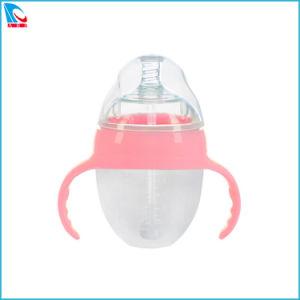 Milchflasche des gute Qualitätssilikon-PPSU, führende Flasche für Kind