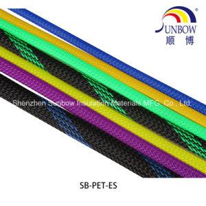 Pet flexible, ampliable funda tubo de malla tejida de envoltura térmica