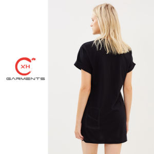 Xhの衣服の簡単なTシャツの服