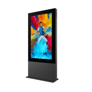 Super dünner im FreienTouch Screen LCD-Bildschirmanzeige-DigitalSignage