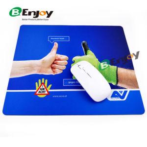 China el logo impreso personalizados alfombrilla para ratón fabricante de la fábrica de caucho