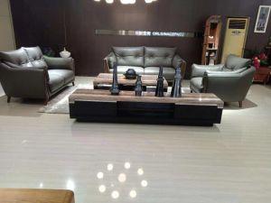 Venta caliente la vida moderna casa con muebles de cuero puro (188#)