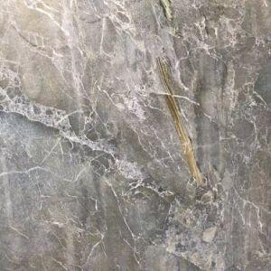 De grijze Lei/de Marmeren Tegels van het Graniet verglaasden de Ceramiektegels 60*60 van de Vloer niet van de Misstap