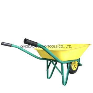 농장을%s 1개의 바퀴를 가진 사용된 외바퀴 손수레