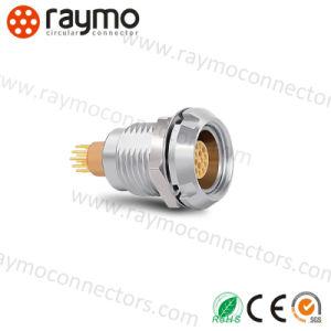 コネクターを受けとっている中国の製造者の競争価格の高品質互換性のあるECGの金属の円のプッシュプル自己