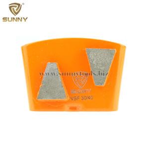 Disco di lucidatura stridente diVendita pieno di sole dell'abrasivo del diamante di HTC per il pavimento di calcestruzzo
