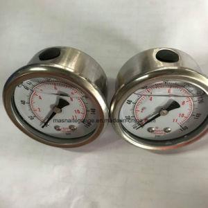 63mm para trás do sistema de água de rosca do medidor de pressão do óleo com a braçadeira em U