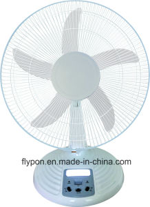 Ventilator van Dsk van de Lijst van de LEIDENE de Lichte Tribune van gelijkstroom Zonne voor Huis met Adapter (FTDC40-001)