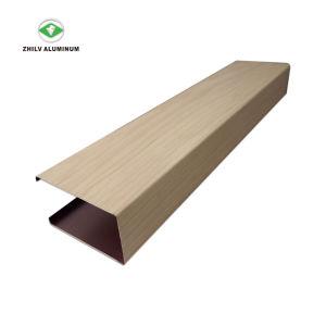 Meilleur Prix du déflecteur de tube carré acoustique plafond décoratifs en aluminium