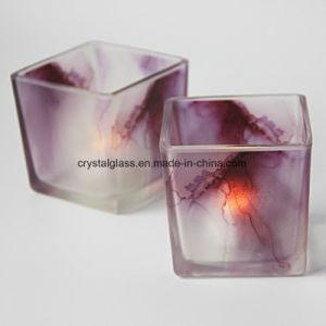 Небольшой размер площади опрыскивания цвет стекла при свечах владельцев