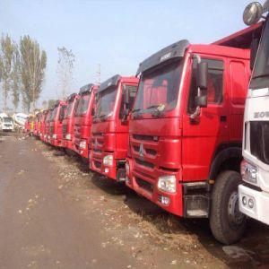 20 de kubieke Gebruikte Zware Vrachtwagen van de Stortplaats van de Machines van de Bouw HOWO