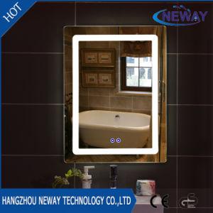 Specchio astuto della stanza da bagno di vanità illuminato hotel domestico moderno LED
