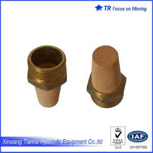 La sinterización de polvo de cobre del silenciador de aire
