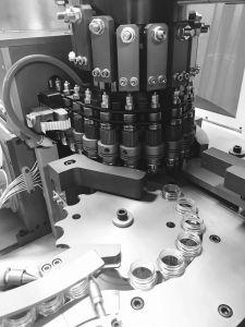 물병 중공 성형 기계