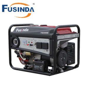 Arranque eléctrico 2.5kw Generador Gasolina portátiles para uso doméstico (FB3000E)