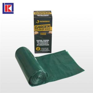 공장 판매 생물 분해성 LDPE/HDPE에 의하여 주문을 받아서 만들어지는 쓰레기통 강선