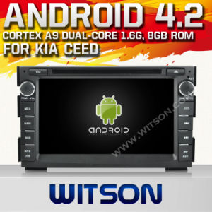 Witson Android 4.2 System Car DVD per KIA Ceed (W2-A7518)