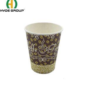 Biodegradáveis de 4oz/8oz/12oz/16oz o logotipo personalizado bebida quente café xícara de papel