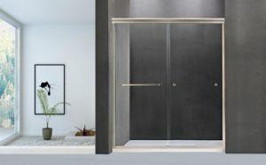 高品質のクロムまたは刷毛引き仕上げの浴室のアクセサリのシャワーのドア