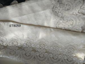 St8059 het Borduurwerk van de Kabel van het Tafelkleed van de Diamant