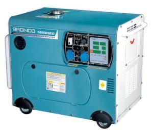 Phase unique silencieux générateur diesel refroidi par air