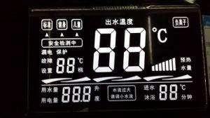 白いバックライトVAスクリーンLCDのパネル